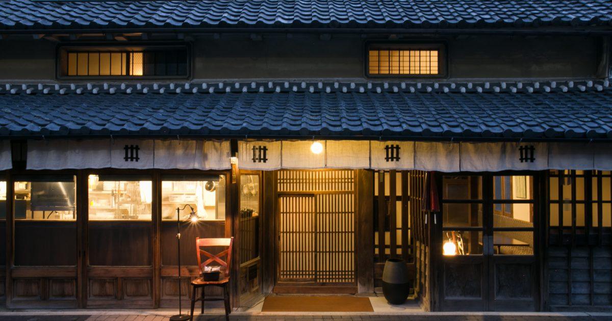 丹波篠山の古民家に泊まれる宿